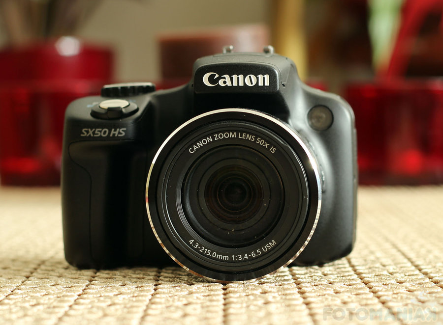 Canon PowerShot SX50 HS / fot. fotoManiaK.pl