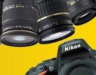 Tani obiektyw lustrzanka Nikon