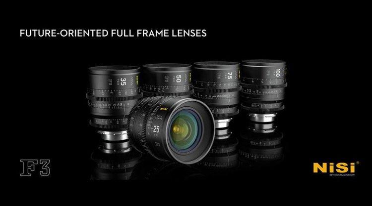NiSi F3 – filmowe obiektywy za 1000 dolarów -