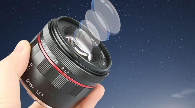 Meike MK-50 mm f/1.7. Pełnoklatkowy standard dla Sony E -