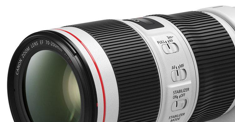 Canon odświeża obiektywy EF 70-200mm f/4L IS II USM i EF 70-200mm f/2.8L IS III USM -