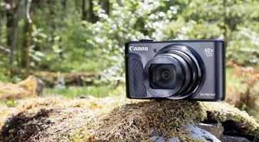Canon PowerShot SX740 HS. Kompakt z 40-krotnym zoomem -