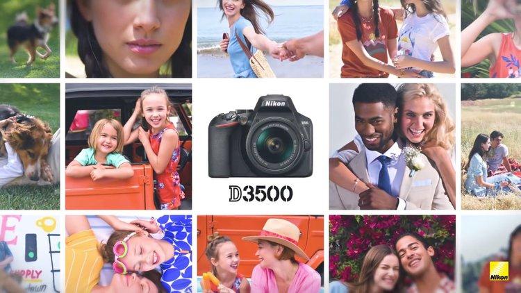 Nikon D3500: nowa odsłona lustrzanki dla amatorów - IFA 2018
