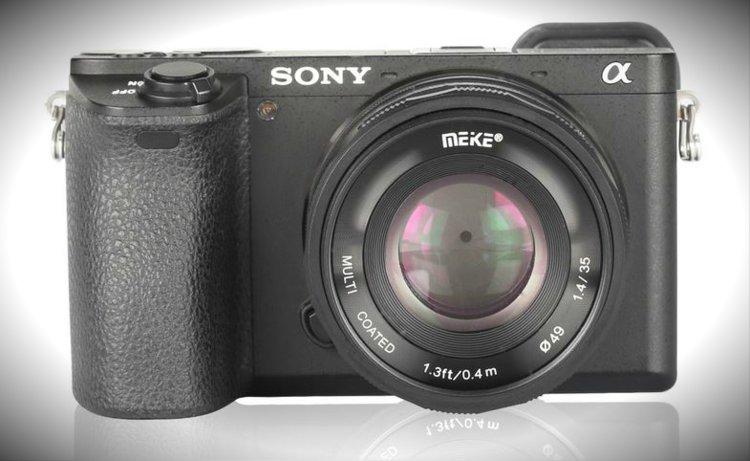 Tani i jasny obiektyw do Sony E? Meike 35 mm f/1.4 -