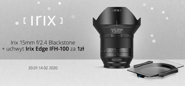Irix 15mm f/2.4 Blackstone w promocji z uchwytem za 1 zł -