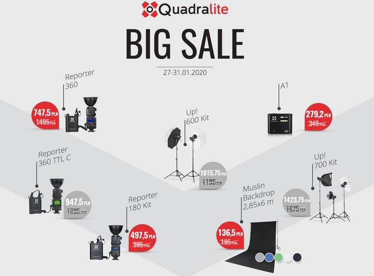 Wyprzedaż Quadralite. To dobry moment na zakup lampy błyskowej -