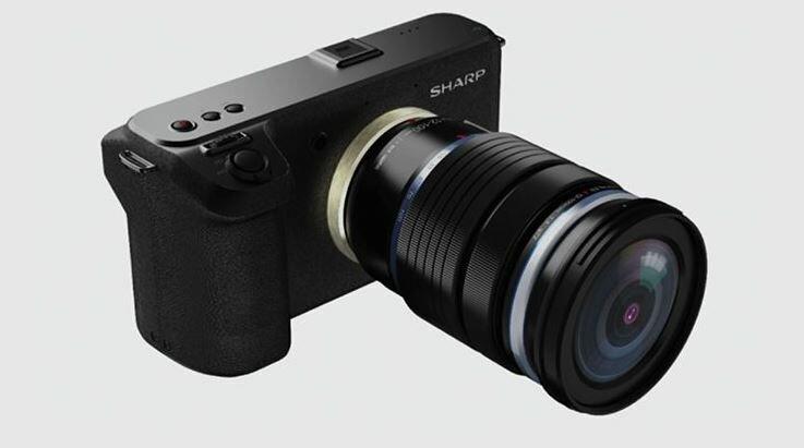 Aparat marki Sharp nagra filmy w 8K. Konkurencja dla Canona? -