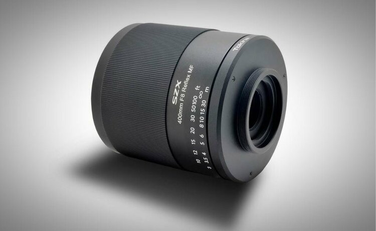 Wyjątkowo długi teleobiektyw Tokina SZX Super Tele 400mm F8 Reflex MF -