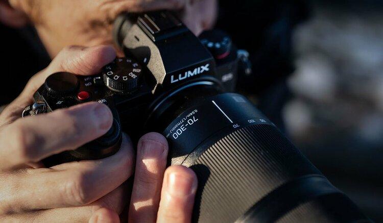 Lumix S 70-300 mm f/4.5-5.6 Macro O.I.S. Teleobiektyw dla pełnej klatki Panasonic -