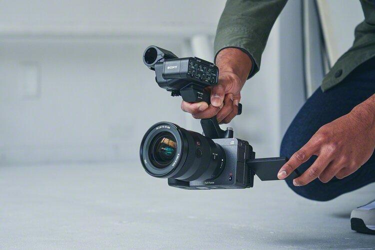 Sony FX3 – pełnoklatkowa kamera z funkcją zdjęć -