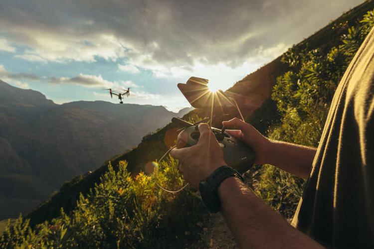 Jak robić ładne zdjęcia i filmy dronem? -