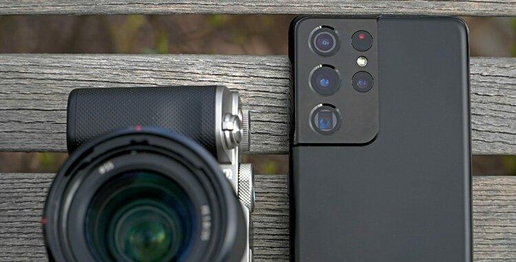 Masz Galaxy S21 Ultra 5G? To nie potrzebujesz ani aparatu, ani kamery -