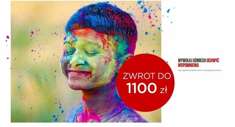 Kup aparat lub obiektyw Canona i zaoszczędź do 1100 zł -